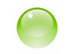Гель витражный зеленый