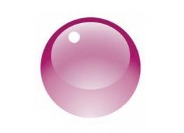 Гель витражный розовый