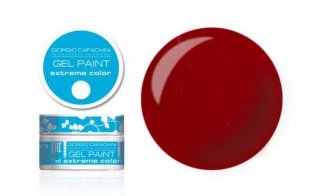 Гель-краска т5 красная темная (срок - до 11.17)