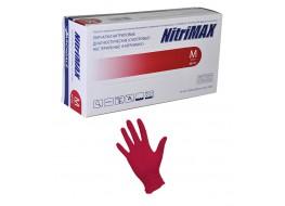 """Перчатки """"Nitri Max"""" нитриловые  XS красные"""