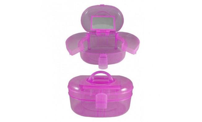 Кейс для инструментов пластик розовый