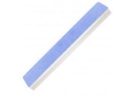 Пилка-полировка 2-х сторонняя бело-голубая широкая