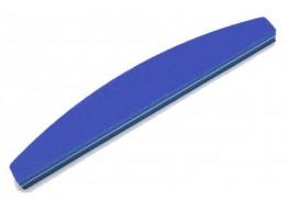 Полировщик для ногтей JN синий полукруг 120*180