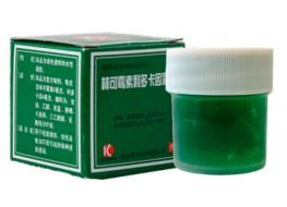 """Гель для тела """"Линькэмэйсу китайский зеленый"""" (зелёнка)"""