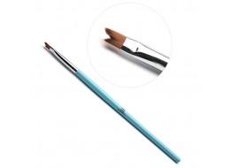 TNL Кисть для дизайна Рельеф А 905180 (голубая)