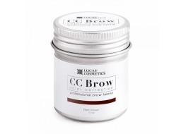 Хна для бровей СС Brow Dark brown Темно-коричневый банка