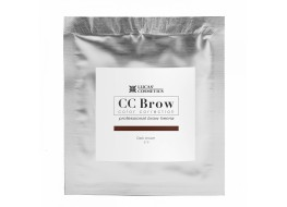 Хна для бровей СС Brow Dark brown Темно-коричневый САШЕ
