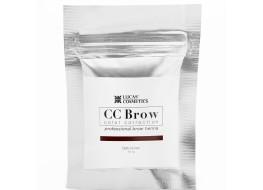 Хна для бровей и ресниц СС Brow Brown Коричневый