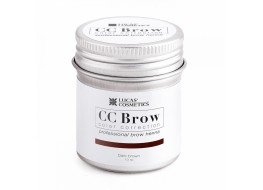 Хна для бровей и ресниц СС Brow Brown Коричневый банка