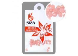 Стразы керамические жемчужные цв.розовый