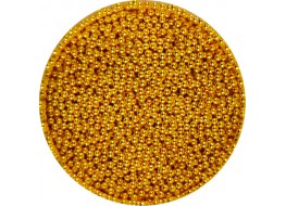 Бульонки металлические золото um-001