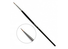Кисть для росписи волосковая №3 с деревянной ручкой