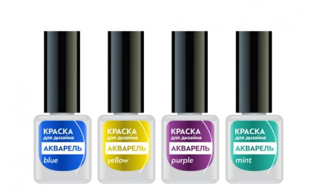 Формула Профи Набор красок для дизайна Акварель №1