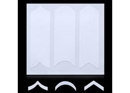 Трафарет для дизайна ногтей одноразовый №1