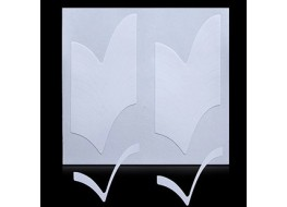 Трафарет для дизайна ногтей одноразовый №11