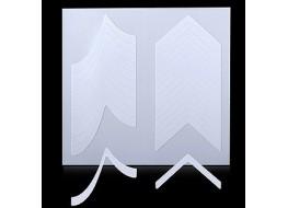 Трафарет для дизайна ногтей одноразовый №12