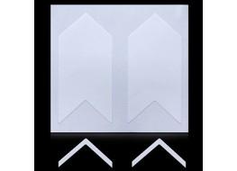 Трафарет для дизайна ногтей одноразовый №13