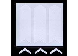 Трафарет для дизайна ногтей одноразовый №17