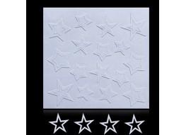 Трафарет для дизайна ногтей одноразовый №18