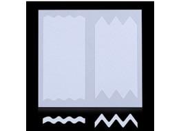 Трафарет для дизайна ногтей одноразовый №24