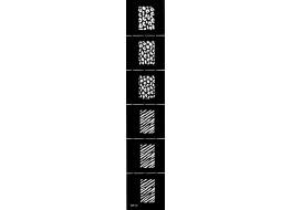 Трафарет для дизайна ногтей Виниловый NK-42