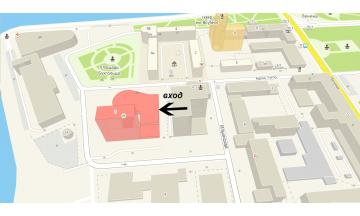 """Место, где будет проходить семинар """"nail-иллюзия"""" 26.04."""