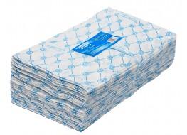 Салфетки одноразовые 30*30 голубые 50 г/м