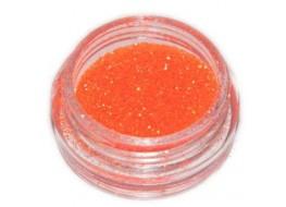 Блёстки Б28 ярко-оранжевые мелкие