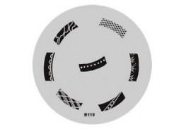 Трафарет для штампа В119