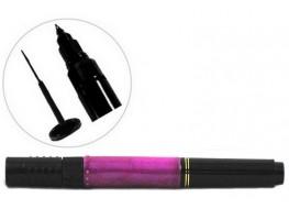 Акрил-краска в карандаше кисть+маркер сиреневая