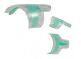 Типсы френч экспресс зеленые
