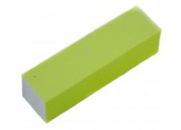 Баф для полировки ногтей жёлтый неон 100 грит