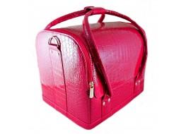 Сумка-кейс кожзам розовый