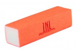 Баф для полировки ногтей НЕОН оранжевый