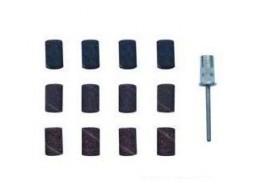 Колпачки шлифовальные с насадкой (набор 12+1)