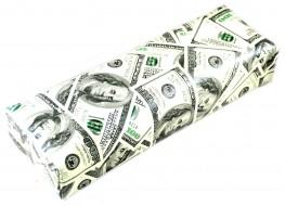 Подлокотник для рук кожаный доллар