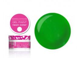 Гель-краска Неон т104 темно-зеленая