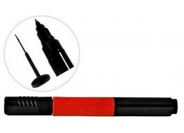 Акрил-краска в карандаше кисть+маркер красная