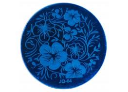 Трафарет для штампа JQ 64