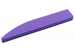 Полировщик для ногтей фиолетовый скошенный 100/120