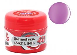 Гель 4D №01 лиловый лепесток