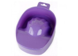 Ванночка для маникюра пурпурная