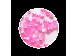 Жемчуг для дизайна розовый