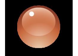 Гель витражный №1 коричневый