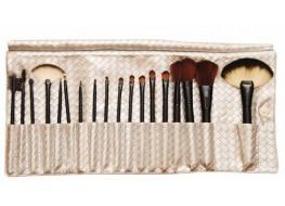 Набор кистей для макияжа (натуральный ворс)