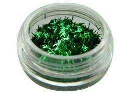 Блестки- соломка №4 темно-зеленые