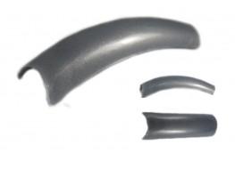 Типсы серебро перламутровое