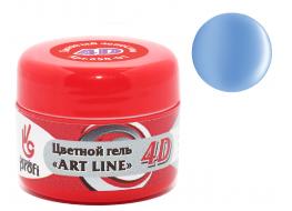 Гель 4D №03 голубая лагуна