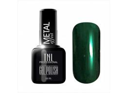 Гель-лак TNL Metal т 19 темно-зеленый