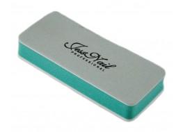 Блок для полировки ногтей 2-х сторонний зелёно-белый 400/1000